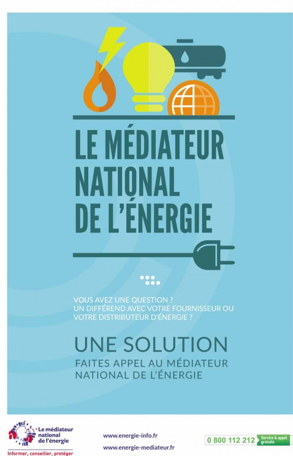 Le médiateur national de l'énergie